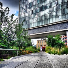 Photo taken at High Line by Doug T. on 7/4/2013
