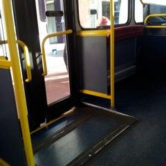 Photo taken at TfL Bus 8 by Erika B. on 9/19/2012