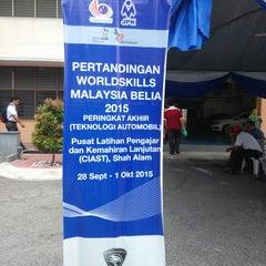 Photo taken at Pusat Latihan Pengajar dan Kemahiran Lanjutan (CIAST) by Ammar A. on 10/1/2015
