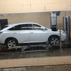 Photo taken at Colonial Car Wash by John B. on 3/8/2013