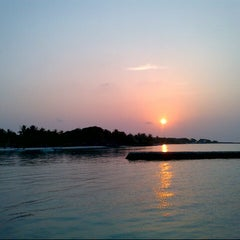 Photo taken at Sheraton Maldives Full Moon Resort & Spa by Peter F. on 10/7/2012