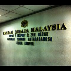 Photo taken at Jabatan Kastam Diraja Malaysia by Muhamad H. on 10/2/2012