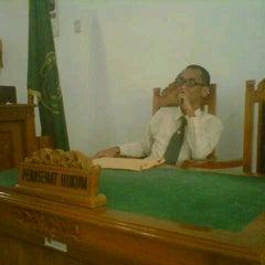 Photo taken at Pengadilan Negeri Tangerang by Angga DS on 10/22/2012