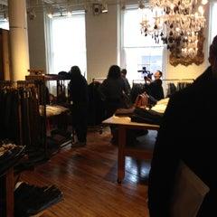 Photo taken at Brooklyn Denim Company by Damon W. on 11/24/2012
