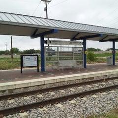 Photo taken at Richland Hills Station (TRE) by Steve C. on 10/30/2013