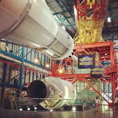 Photo taken at Apollo/Saturn V Center by moya m. on 5/20/2013