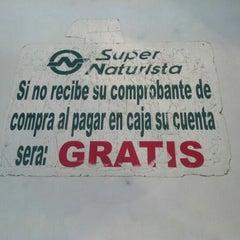 Photo taken at Super Mayoreo Naturista by Rafael R. on 11/4/2012