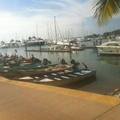 Photo taken at Marina Riviera Nayarit by salvador v. on 12/24/2012