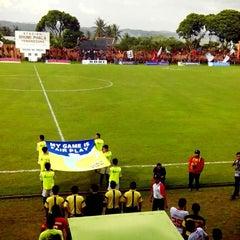 Photo taken at Stadion Bhumi Phala Temanggung by Vian V. on 5/10/2014