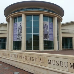 Photo taken at Abraham Lincoln Presidential Museum by John H. on 4/17/2013