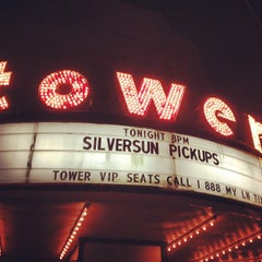 Photo taken at Tower Theater by DAVi D. on 10/17/2012