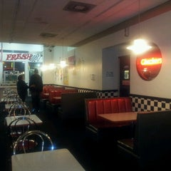 Photo taken at Checkers Drive-In Restaurant by Miguel G. on 1/2/2013