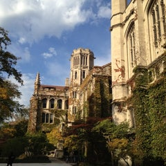 Photo taken at The University of Chicago by Paul R. on 10/20/2012