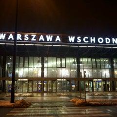 Photo taken at Warszawa Wschodnia by Krzysztof K. on 4/5/2013
