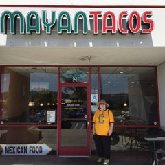 Photo taken at Mayan Tacos by g o. on 4/18/2015