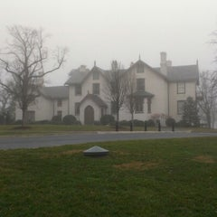 Photo taken at President Lincoln's Cottage by Kristina H. on 1/13/2013