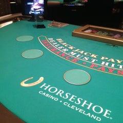 Photo taken at Horseshoe Cleveland by Julian K. on 9/27/2012