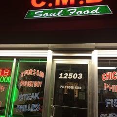 Photo taken at CMB Soul Food by Julian K. on 10/19/2013