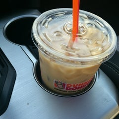 Photo taken at Dunkin' Donuts by Liz L. on 10/14/2012