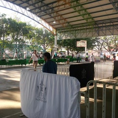 Photo taken at Unidad Deportiva by José Miguel M. on 3/22/2014