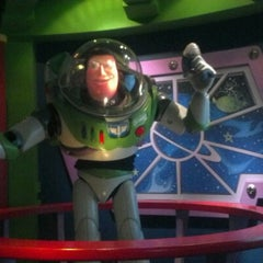 Photo taken at Buzz Lightyear Astro Blasters by Lisa S. on 10/27/2012