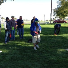 Photo taken at Eastman Park Disc Golf Course by Echo E. on 10/6/2012