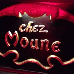 Photo taken at Chez Moune by Lionel F. on 6/6/2014