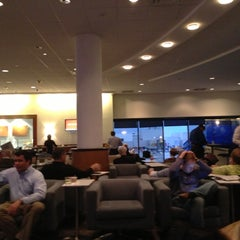 Photo taken at Delta Sky Club by Charles D. on 11/27/2012