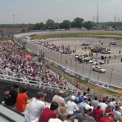 Photo taken at Toledo Speedway by Trent M. on 5/19/2013