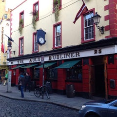 Photo taken at The Auld Dubliner by Anatoliy D. on 5/8/2013