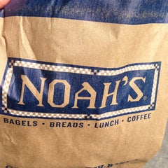 Photo taken at Noah's Bagels by Shawn A. on 6/18/2013