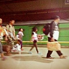 Photo taken at Stasiun Pasar Senen by Hadi G. on 10/30/2012