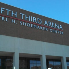 Photo taken at Fifth Third Arena by Aaron B. on 12/22/2012