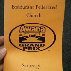 Photo taken at Bondurant Federated Church by Robin G. on 11/17/2012