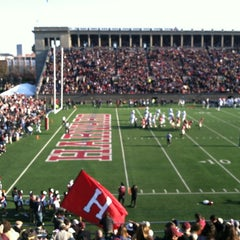 Photo taken at Harvard Stadium by Pete S. on 11/18/2012