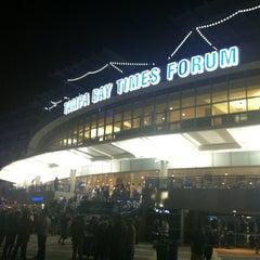 Photo taken at Amalie Arena by Alberto B. on 2/27/2013
