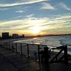 Photo taken at Coolangatta Beach by Frei 1. on 3/23/2013