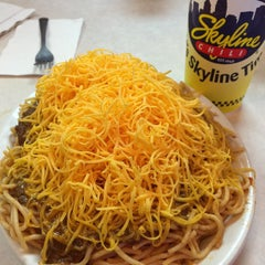 Photo taken at Skyline Chili by Nate on 12/22/2014