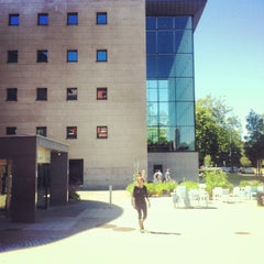 Photo taken at Malmö Stadsbibliotek by Johan A. on 7/20/2013
