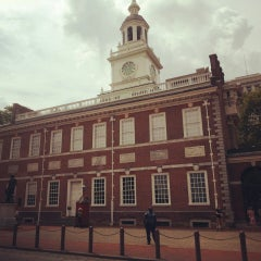 Photo taken at Independence Hall by Anna P. on 7/27/2013
