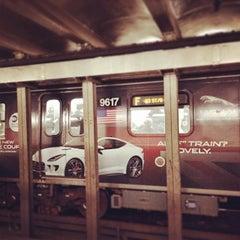 Photo taken at MTA Subway - Bergen St (F/G) by Jaime B. on 2/7/2014