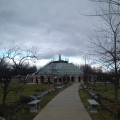 Photo taken at Our Lady of Fatima Shrine by Chris C. on 12/5/2012