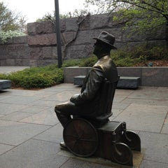 Photo taken at Franklin Delano Roosevelt Memorial by Chris C. on 4/15/2013