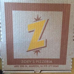 Photo taken at Zoey's Pizza by Emily K. on 9/26/2015