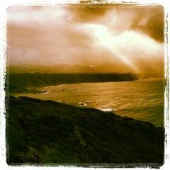 Photo taken at Faro de Cabo Vidio by Alejandro T. on 11/24/2013