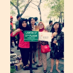 Photo taken at Bakrie Tower by Dian V. on 6/25/2014