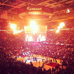 Photo taken at Quicken Loans Arena by Angela M. on 3/20/2013