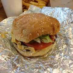 Photo taken at Five Guys by Jeremy N. on 10/19/2012