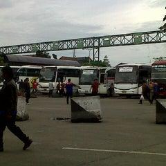 Photo taken at Terminal Leuwipanjang by Melinda K. on 7/14/2013