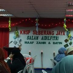 Photo taken at Pejabat KWSP Seberang Jaya by aiman f. on 7/31/2015